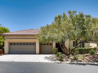 Las Vegas NV Single Family Home For Sale: $550,000