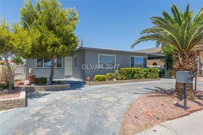 Las Vegas NV Single Family Home Sold: $170,000