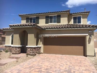 Las Vegas Single Family Home For Sale: 12800 Slipknot Street