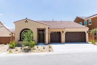 North Las Vegas Single Family Home For Sale: 1017 Claystone Ridge Avenue