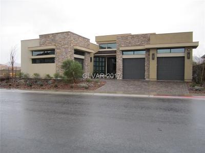 Henderson Single Family Home For Sale: 45 Bella Lago Avenue