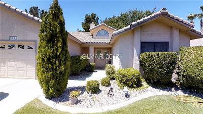 Las Vegas Condo/Townhouse For Sale: 5221 Las Cruces Drive