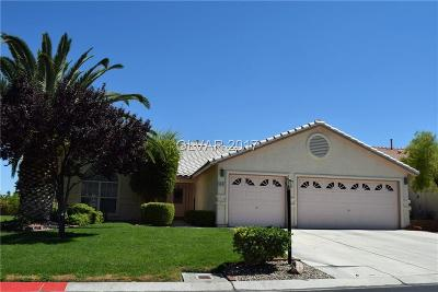 Las Vegas Single Family Home Contingent Offer: 5001 Palm View Drive
