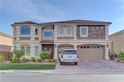 Las Vegas Single Family Home For Sale: 4235 Abernethy Forest Place