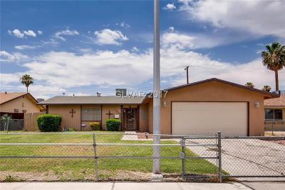 Las Vegas NV Single Family Home For Sale: $150,000