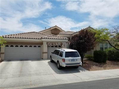 North Las Vegas Single Family Home For Sale: 2909 Tanagrine Drive