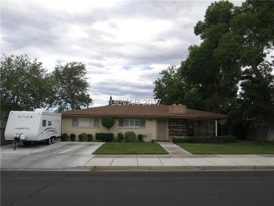 Boulder City Single Family Home For Sale: 709 Sixth Street