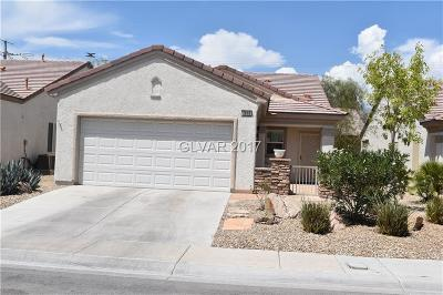 North Las Vegas Single Family Home For Sale: 3616 Kittiwake Road
