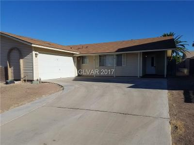 Las Vegas NV Single Family Home Sold: $210,000