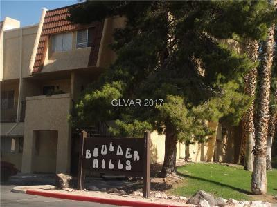 Boulder City Condo/Townhouse For Sale: 1303 Darlene Way #404C