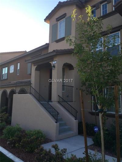 Las Vegas Condo/Townhouse For Sale: 11395 Ogden Mills Drive #102