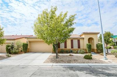 Las Vegas Single Family Home Contingent Offer: 7473 Cleghorn Canyon Way
