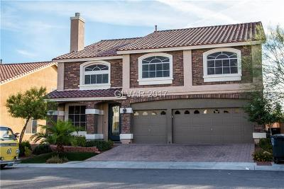 Las Vegas  Single Family Home For Sale: 9650 Black Coyote Court