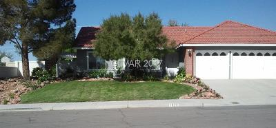 Boulder City Single Family Home Contingent Offer: 1629 Indian Wells Drive