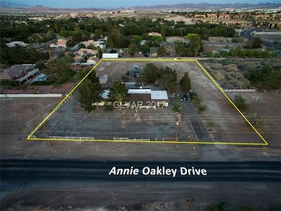 Clark County Single Family Home Contingent Offer: 6010 Annie Oakley Drive