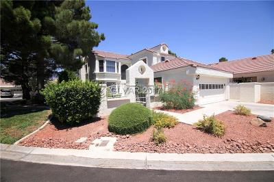 Las Vegas Single Family Home For Sale: 7220 Painted Shadows Way