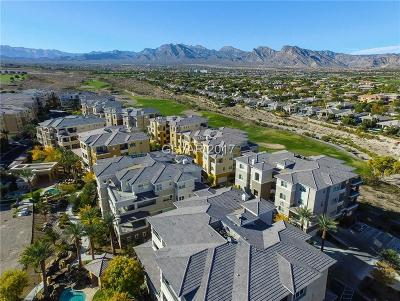 Las Vegas Condo/Townhouse For Sale: 9209 Las Manaitas Avenue #202
