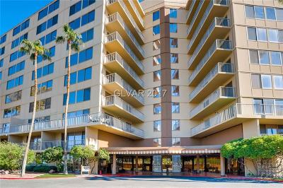 Las Vegas High Rise Under Contract - No Show: 205 Harmon Avenue #912