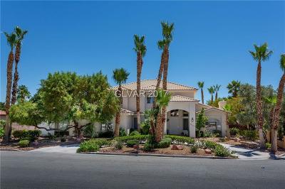 Las Vegas Single Family Home For Sale: 2860 Mountain Mist Court