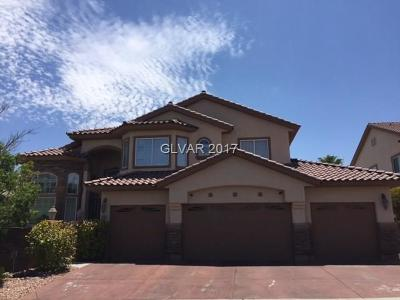 Las Vegas Single Family Home For Sale: 5699 Benevento Court