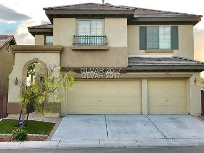 North Las Vegas Single Family Home For Sale: 5905 Armide Street