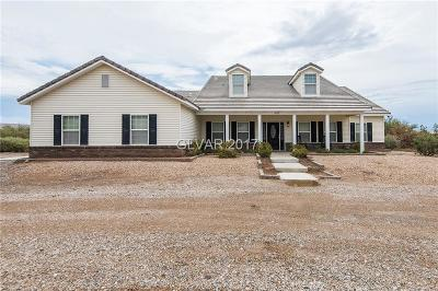 Overton NV Single Family Home For Sale: $459,777