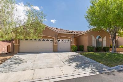 Las Vegas Single Family Home For Sale: 5509 Villa Lucia Court