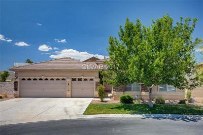 Las Vegas Single Family Home For Sale: 637 Orbiter Lane