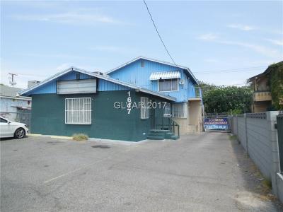 Henderson, Las Vegas Multi Family Home For Sale: 1647 East Charleston Boulevard