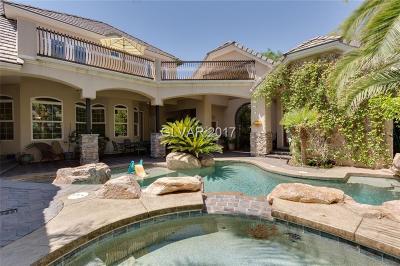 Henderson, Blue Diamond, Boulder City, Las Vegas, North Las Vegas, Pahrump Single Family Home For Sale: 4618 Monterey Oaks Court