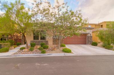 Las Vegas Single Family Home Contingent Offer: 5533 Candle Pine Way