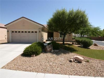 North Las Vegas Single Family Home For Sale: 7512 Lintwhite Street