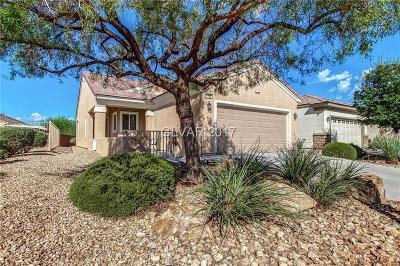 North Las Vegas Single Family Home Contingent Offer: 7765 Wading Bird Way