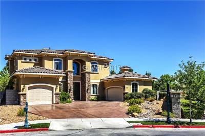 Henderson, Blue Diamond, Boulder City, Las Vegas, North Las Vegas, Pahrump Single Family Home For Sale: 2578 Mirabella Street