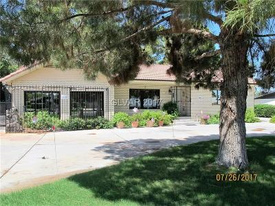Clark County Single Family Home For Sale: 5352 West Lake Mead Boulevard