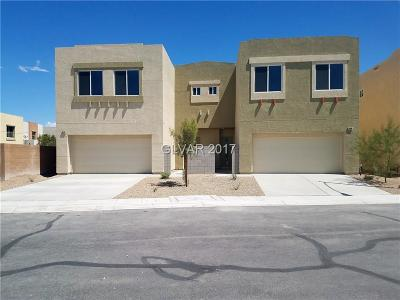 North Las Vegas Condo/Townhouse For Sale: 6470 Cinnamon Hazelnut Street