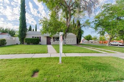 Boulder City Single Family Home For Sale: 581 Seventh Street
