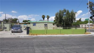 Las Vegas Single Family Home Contingent Offer: 1900 Euclid Avenue