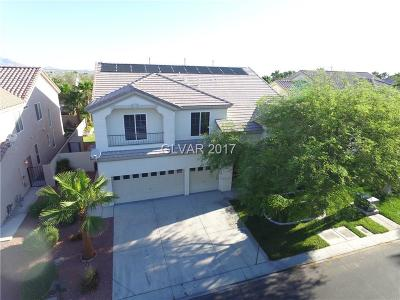 Las Vegas Single Family Home For Sale: 56 Dollar Pointe Avenue
