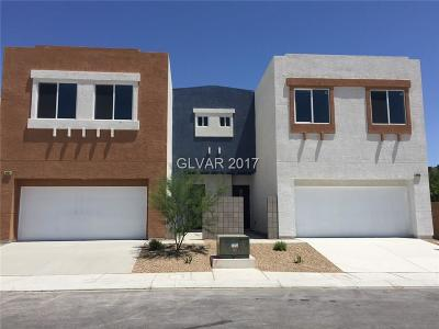 North Las Vegas Condo/Townhouse For Sale: 6454 Cinnamon Hazelnut Street