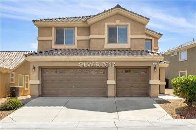 Las Vegas Single Family Home For Sale: 382 Blue Tee Court