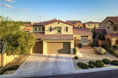 Las Vegas Single Family Home For Sale: 7183 Majestic Bluff Place