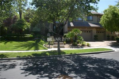 Las Vegas Single Family Home For Sale: 813 Canyon Greens Drive