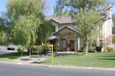 Las Vegas  Single Family Home For Sale: 8430 Del Vista Court