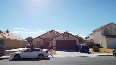 North Las Vegas NV Single Family Home Under Contract - No Show: $179,990