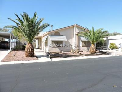 Las Vegas Single Family Home Contingent Offer: 5850 Sassy Rose Drive