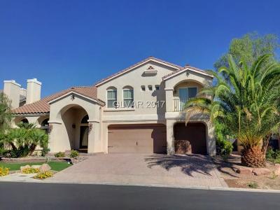 Las Vegas Single Family Home For Sale: 4420 Grey Spencer Drive