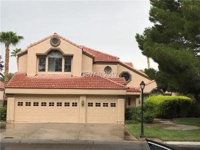 Las Vegas Single Family Home For Sale: 7760 Painted Sunset Drive
