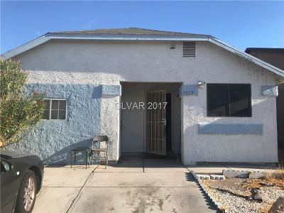 Las Vegas Single Family Home Contingent Offer: 3633 Lake Shore Court