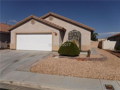 North Las Vegas Single Family Home Contingent Offer: 5528 La Pelusa Street